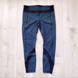 Lululemon Leggings w/ Pockets & Mesh Detailing